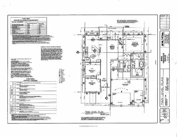 Floor Plan for Sarah Ave, Albany OR